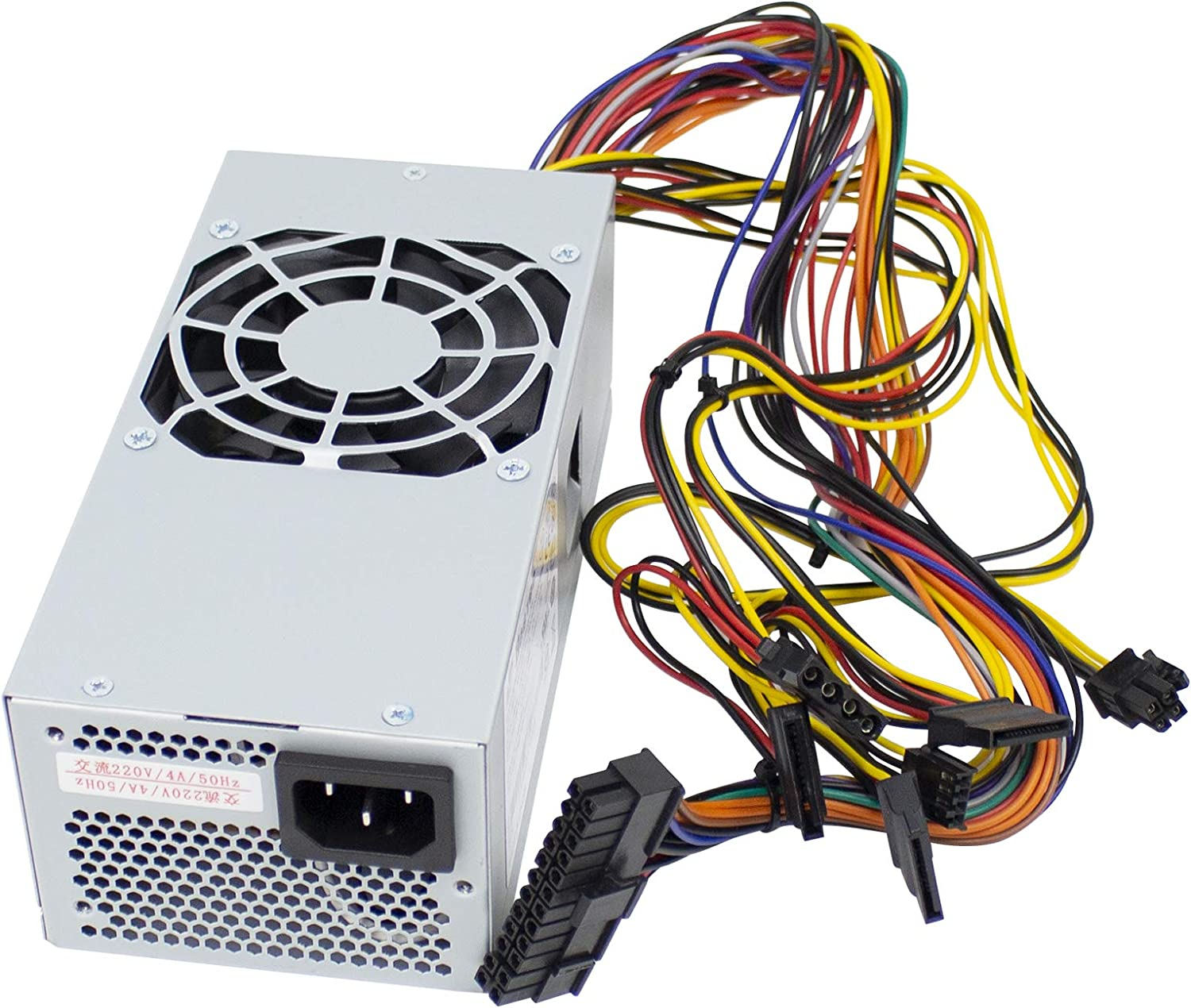 YEECHUN 250W TFX0250D5W Power Supply Replacement for Dell Inspiron 530S 531S, Vostro 200(Slim) 200S 220S, Studio 540S Small Form Factor(SFF) Systems Compatible Part Numbers: XW605, YX301, XW604, XW784