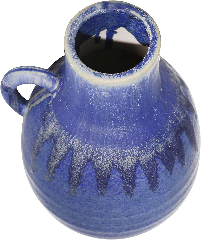 color azul y blanco Juego de tetera de cer/ámica para el hogar dise/ño de tetera tama/ño grande