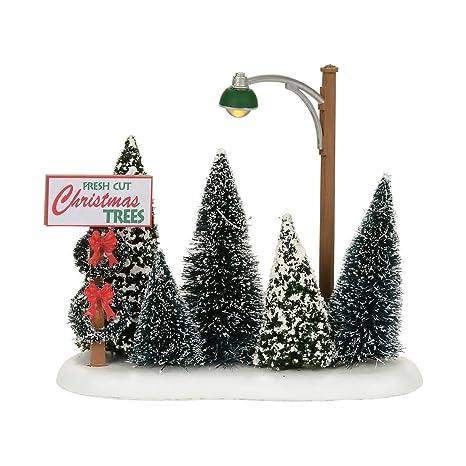 Department 56 Christmas Tree.Department 56 Accessories For Villages Lit Christmas Tree Lot Accessory Figurine
