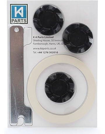 3 x Acoplador de goma para batidora KitchenAid con llave para ayudar a retirarlo y junta