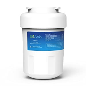 EcoAqua EFF-6013A Replacement for GE MWF SmartWater, MWFA, MWFP, GWF, GWFA, Kenmore 469991 Refrigerator Water Filter