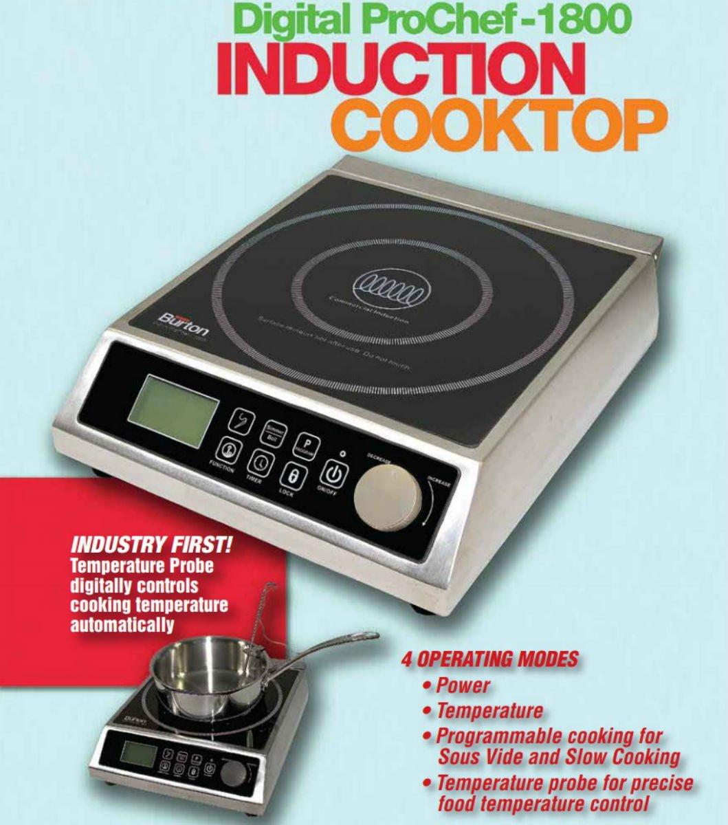 Amazon.com: Max Burton 6515 prochef-1800 Inducción ...