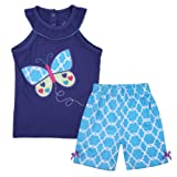 Amazon Price History for:Meeyou Little Girls' Lovely Tank top & Essential Shorts Set