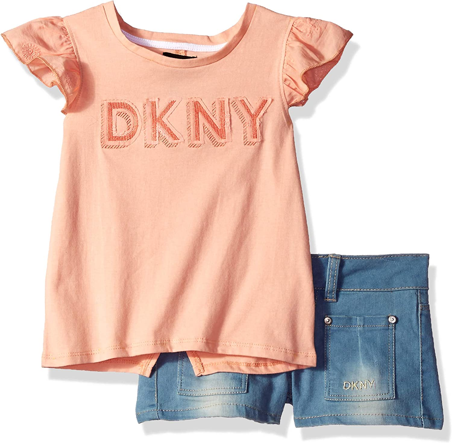 DKNY Girls Shorts Set