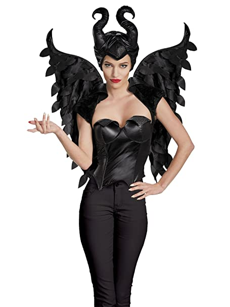 Disguise Women S Disney Maleficent Movie Maleficent Adult Wings Costume Accessory Black One Size