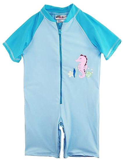 Amazon Com Sweet Soft Girls Swimwear Animal Print One Piece Swim