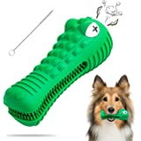 Dog Toys for Aggressive Chewers Large Medium Breed Dog Chew Toys Dog Toothbrush Indestructible Squeaky Interactive Tough Extr