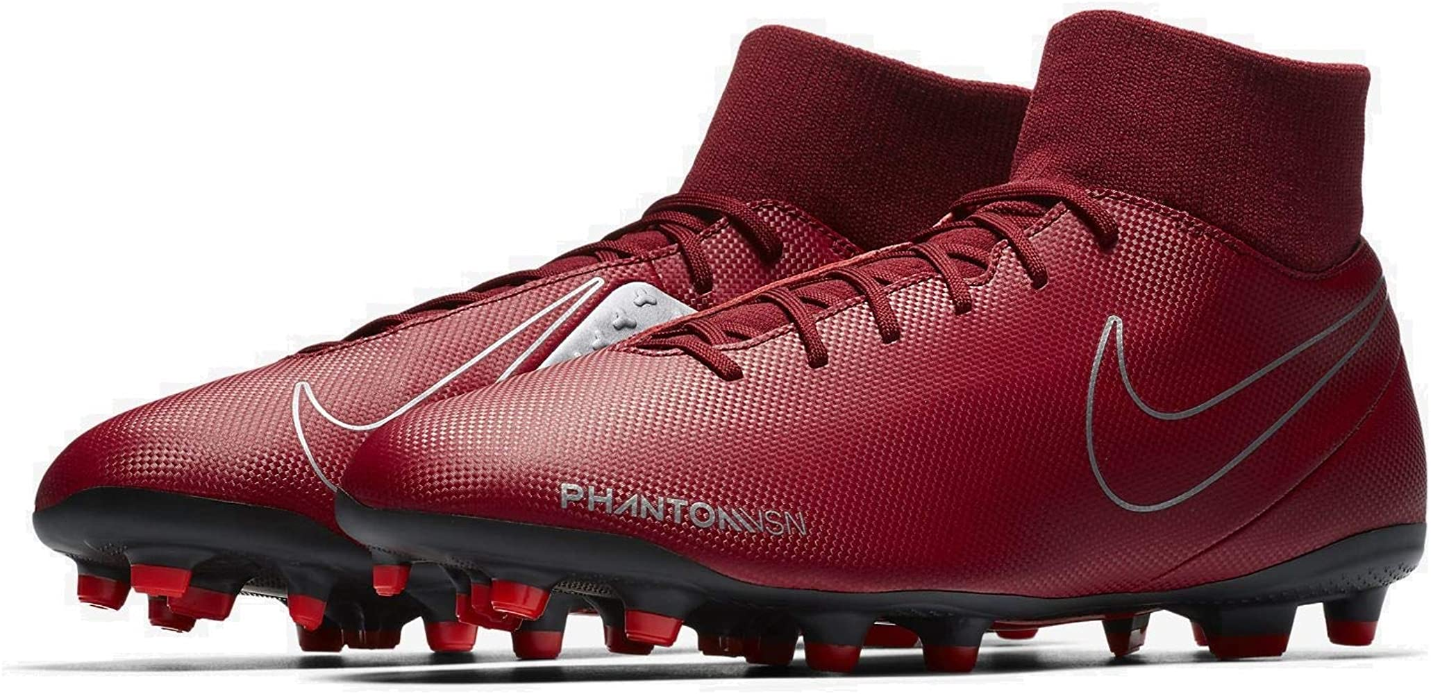 65997a513d225 Hypervenom Phantom Vision Club DF MG Soccer Cleat (Team Red) (Men's  7.5/Women's 9)
