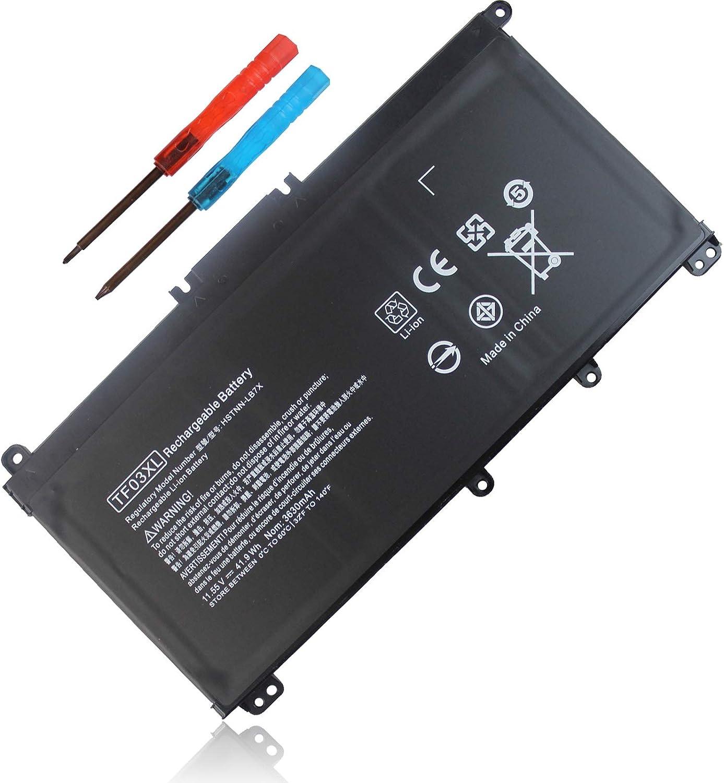 TF03XL 920070-855 920046-421 Battery for HP Pavilion x360 14m-cd0001dx 14m-cd0003dx 15-cc0xx 15-cc023cl 15-cc123cl 15-cc050wm 15-cc563st 17-ar050wm 15-cc 15-cd 14-bf 14-bf050wm Series tpn-q190