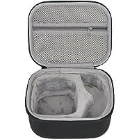 co2crea Hard Travel Case for Walker's Razor Slim Electronic Hearing Protection Muffs Passive Earmuffs Ultra Low Profile 27dB NRR (Black Case)