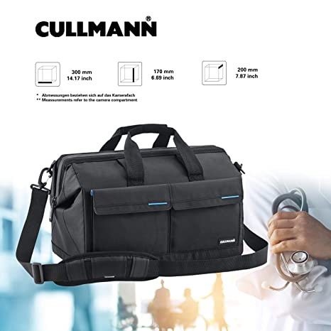 Cullmann Amsterdam Maxima 520 - Bolsa Bandolera para cámaras ...