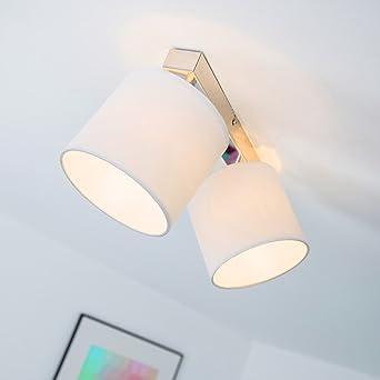 Lámpara de techo; Lámpara de techo de foco, 2-lámpara de techo con ...