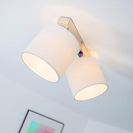 Lámpara de techo; Lámpara de techo de foco, 2-lámpara de ...