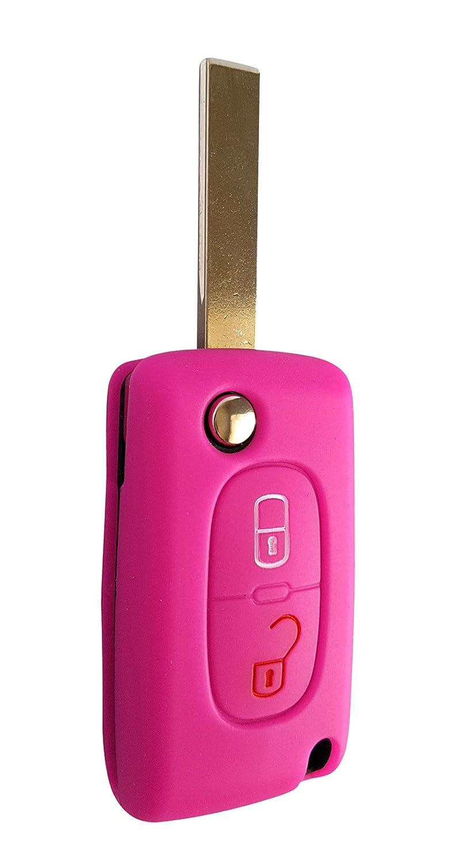 Citroen car key case car key silicone cover for C1,/C2,/C3,/C4,/Grand Picasso CK