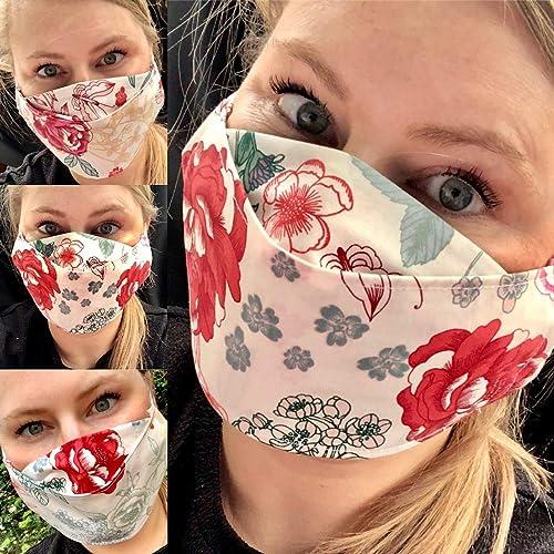 Mundbedeckung und Nasen-Maske,Behelfsmaske Baumwolle 100/% Mund