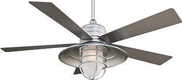 """Minka Aire F582 GL Rainman 54"""" Ceiling Fan Galvanized"""