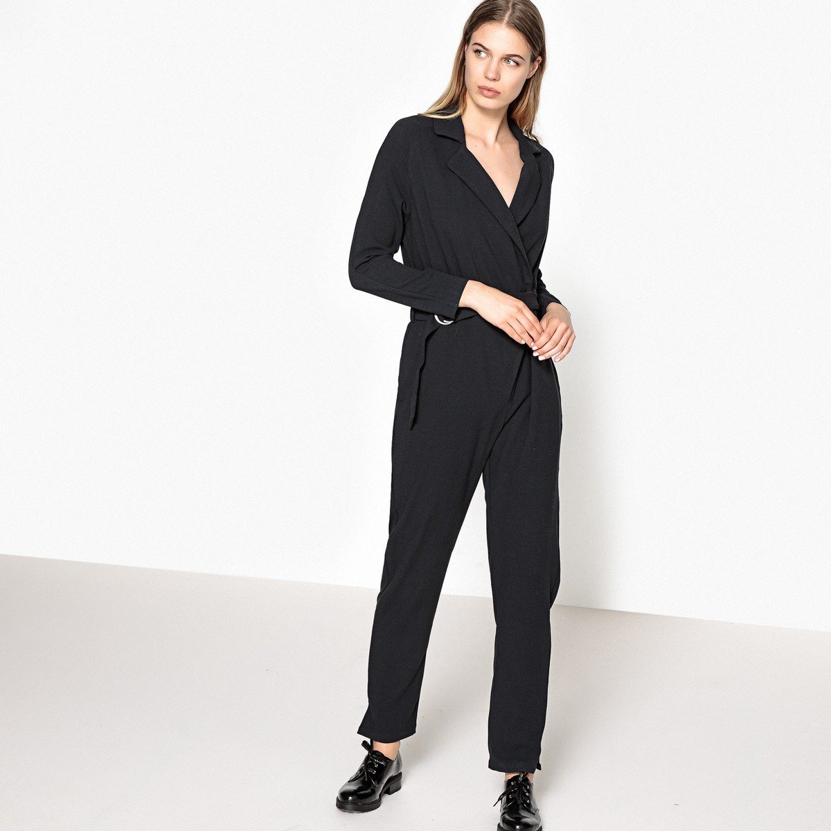 Pepe Jeans Womens Shirt Style Jumpsuit With Belt Grey Size M by Pepe Jeans
