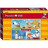"Peanuts ""Snoopy"" Puzzle (500-Piece, Multi-Color)"