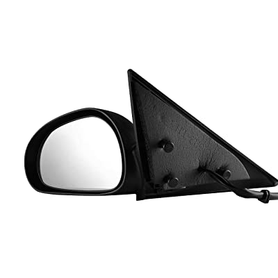 Driver Side View Mirror for 1999-2004 Ford Mustang - Power Operated, Non-Folding - FO1320201: Automotive