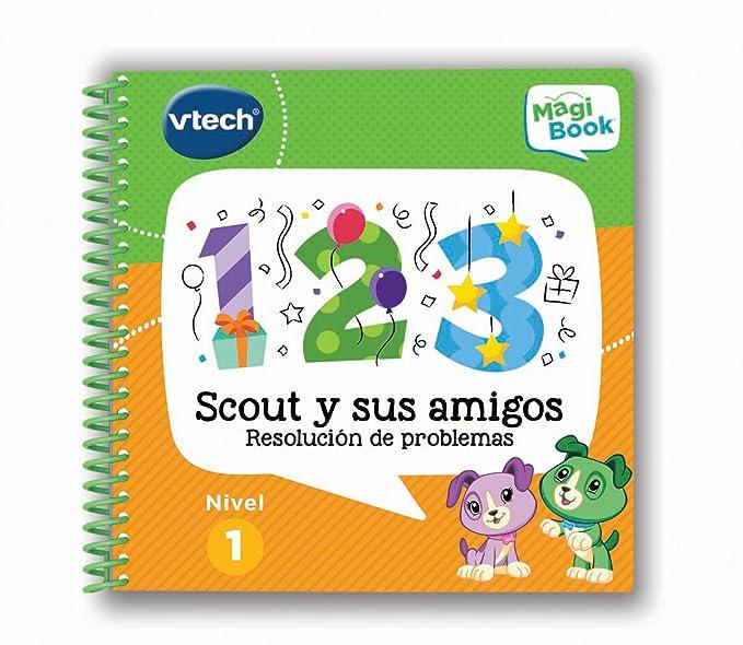 VTech - Libro Scout y Sus Amigos, Plataforma MagiBook (80-480722): Amazon.es: Juguetes y juegos