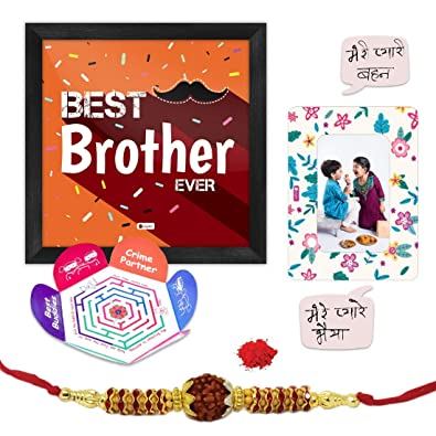 Indi ts Rakhi for Brother with Gift