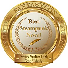 Greg Alldredge Best Steampunk Novel