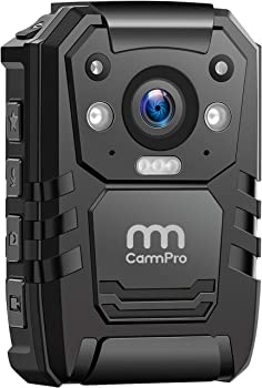 CammPro 1296p 64GB Body Camera with 2 Inch Display