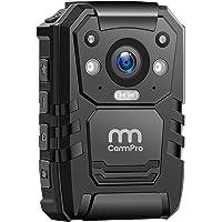 1296P HD Police Body Camera,64G Memory,CammPro Premium Portable Body Camera,Waterproof Body-Worn Camera with 2 Inch…