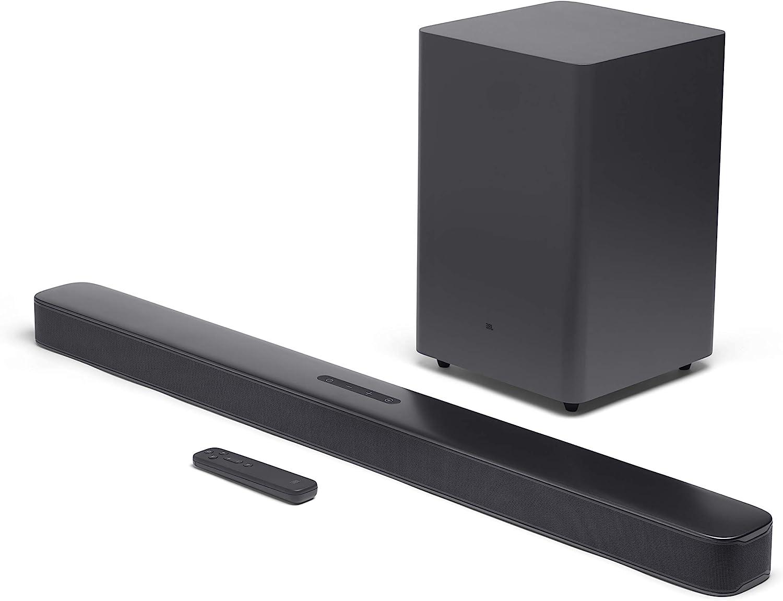 """JBL Bar 2.1 - Deep Bass Soundbar with 6.5"""" Wireless Subwoofer"""