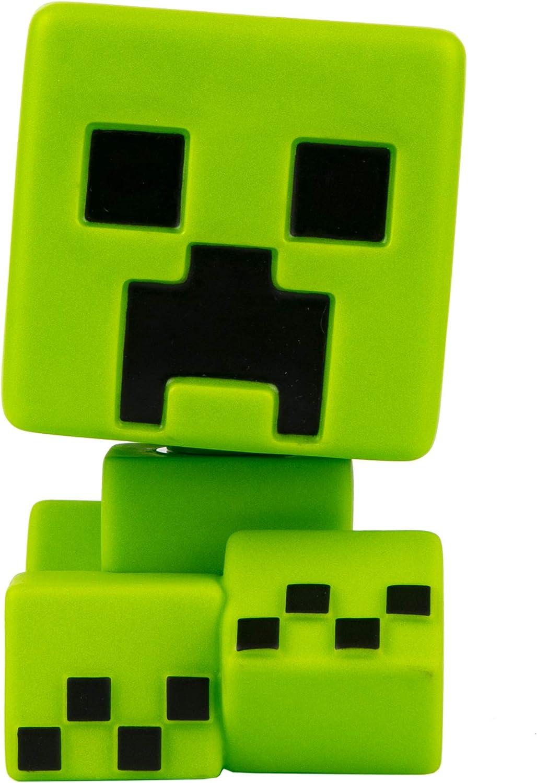 5 Tall Green JINX Minecraft Creeper Mega Bobble Mob Glows in The Dark