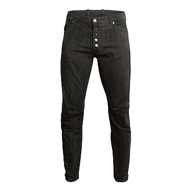 Imperial Herren Hose Trousers Farbe Grau Casual Look mit Knopfleiste Größe  52 Used Look abda967835