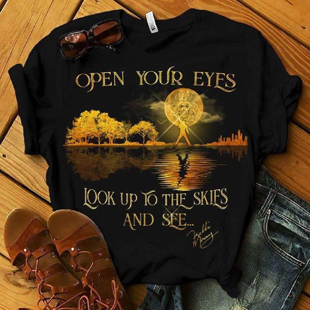 Amazon.com: Open Your Eyes Look Up to The Skies and See T ...
