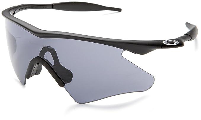 oakley mens m frame heater sunglassesmatte black framegrey lensone size