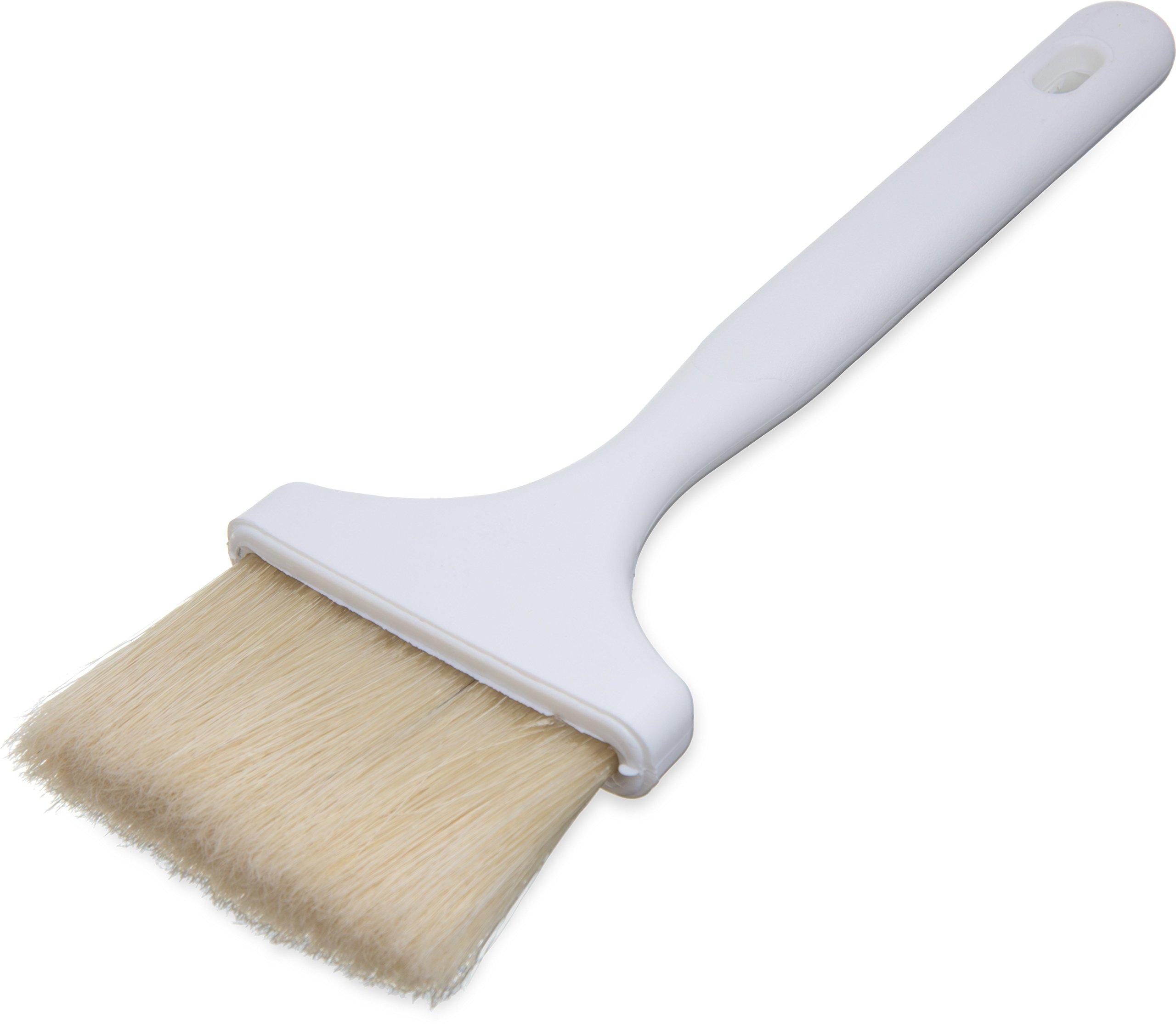 Carlisle 4037900 Sparta Meteor Pastry/Basting Brush, 3'', Boars Hair