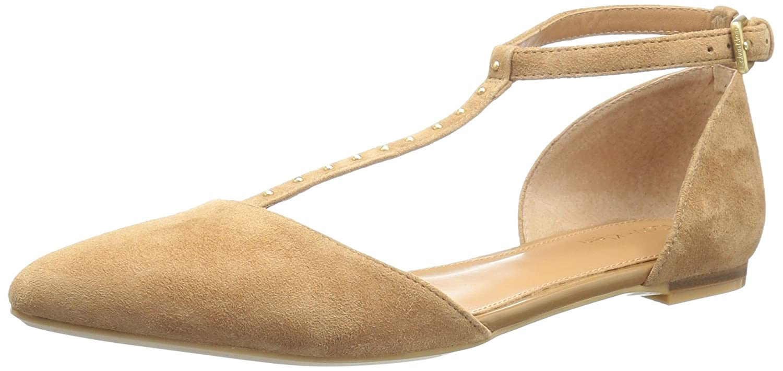 Calvin Klein Women's Ghina Pointed Toe Flat B01L8KKPBY 8.5 B(M) US|New Caramel