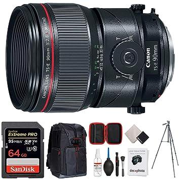 Canon TS-E lente de marco completo de 90 mm f/2.8L Prime DSLR macro (