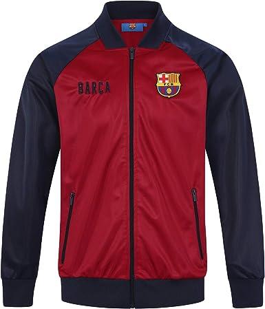 FC Barcelona Official Football Gift Boys Retro Track Top Jacket