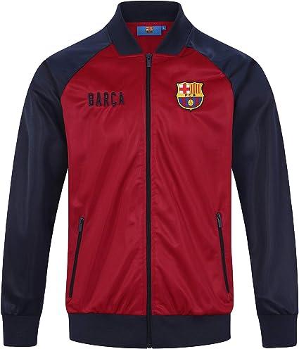 FCB FC Barcelona - Chaqueta de Entrenamiento Oficial - para Hombre ...