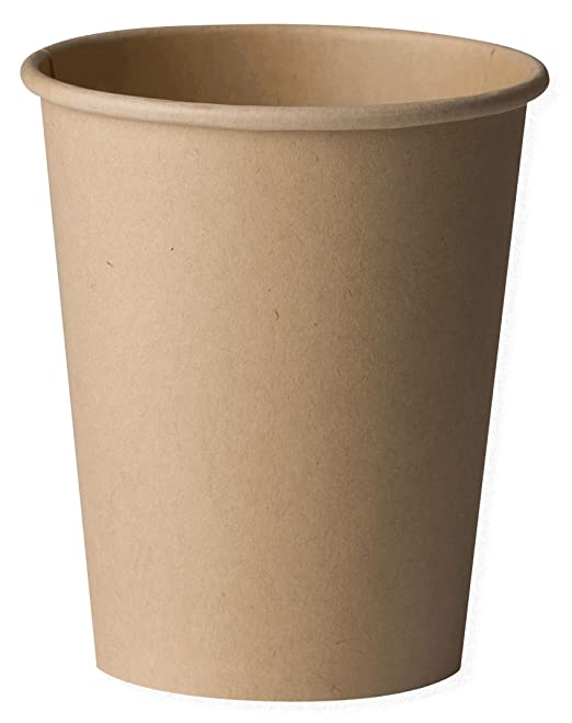 color blanco paquete de 50 Biodeck Vaso para bebidas calientes biodegradable y compostable 300 ml