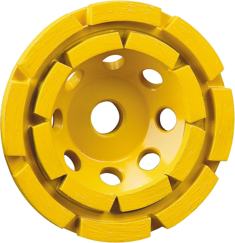 "aggressive medium 5/"" Disco turbo diamond cup wheel//wheels -- excellent balance"