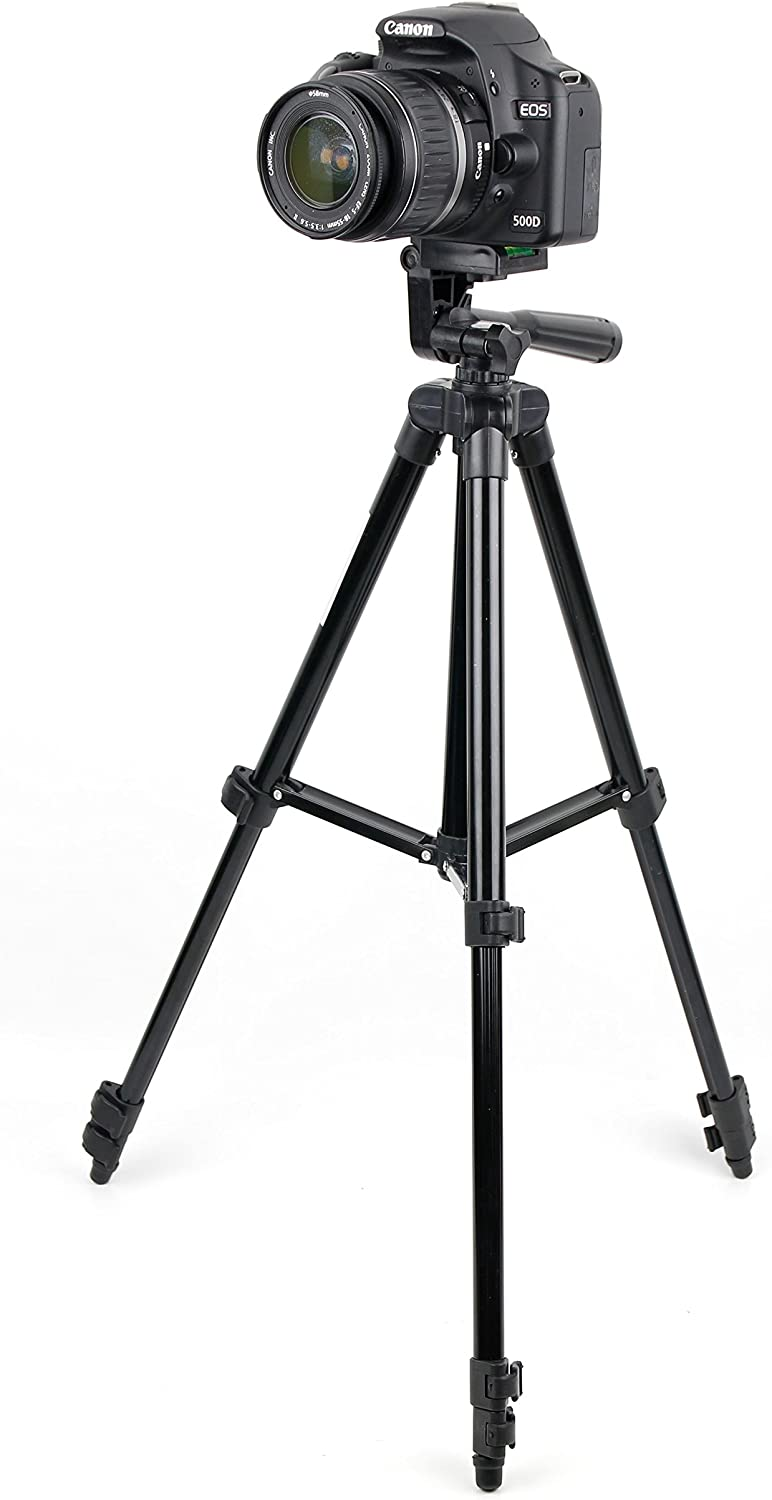 Compatible with Canon EOS 100D//Panasonic Lumix DMC-LZ30E//Canon EOS 70D DURAGADGET Generic 1m Extendable Portable Tripod with Screw Mount