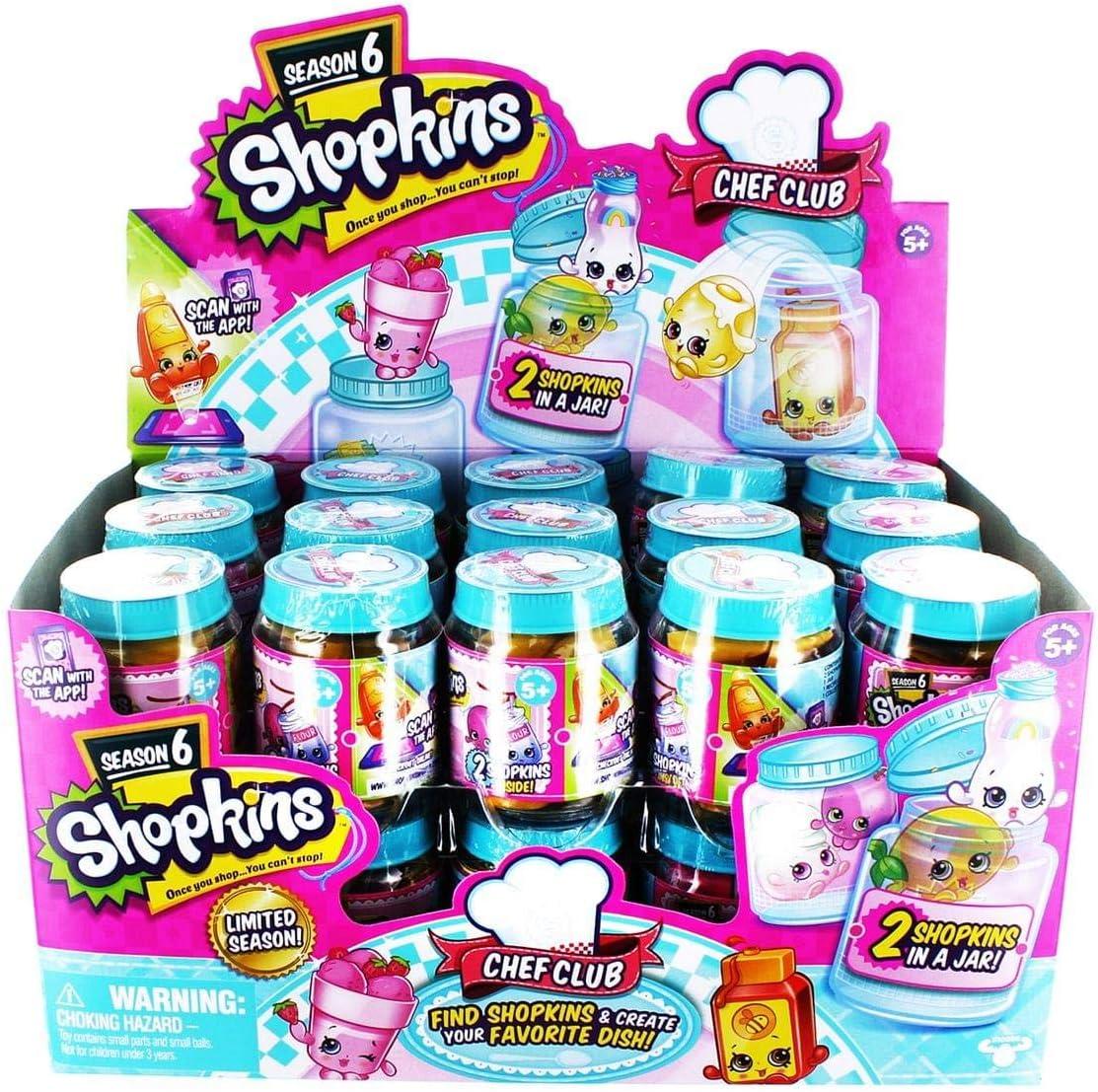 Vous ne pouvez pas arrêter de nouveau Shopkins chef Club 5 Pack Série 6-Une fois vos achats..