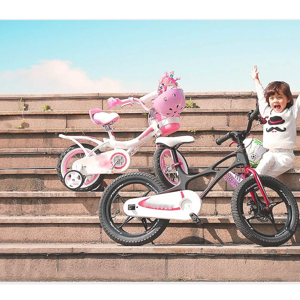 Amazon.com: LJJ - Bicicleta infantil con asiento trasero y ...