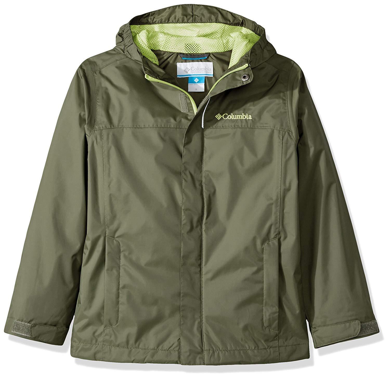 Columbia Boy's Water Tight Waterproof Rain Shell Jacket