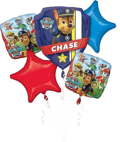 amscan 3272301 Folienballon Set Paw Patrol, verschieden