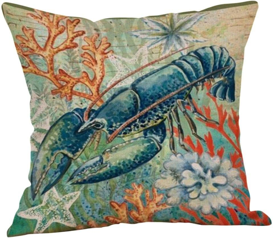 KIKOY Square Pillow Cover Throw Pillow
