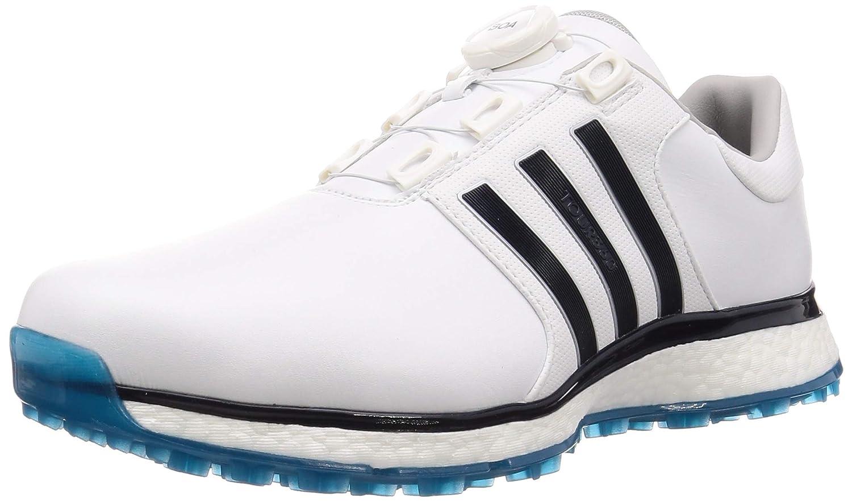 [アディダスゴルフ] ゴルフスパイク ツアー360 XT スパイクレス ボア メンズ ホワイト/レジェンドインク/アクティブティール 26.5 cm
