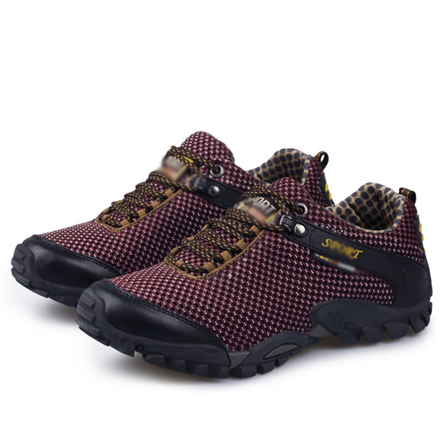 Amazon.com | Smakke Men Hiking Shoes Breathable Mesh Outdoor Climbing Shoes Sneakers Treking Camping Shoes | Hiking Shoes