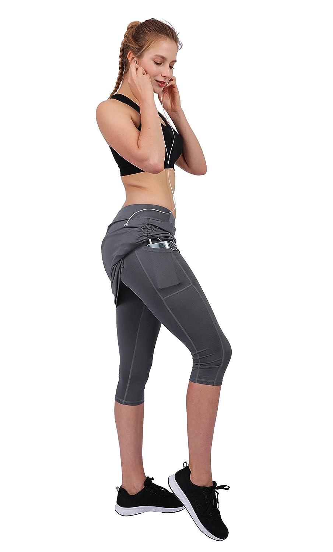 Honofash Falda Pantalón Tenis Mujer Deportivas Deporte Running ...