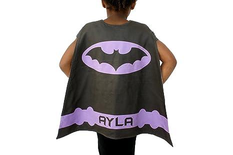 Purple Batgirl Costume Cape for Girl Personalized Kids Batman Cape Costume Batman Dress Up  sc 1 st  Amazon.com & Amazon.com: Purple Batgirl Costume Cape for Girl Personalized Kids ...